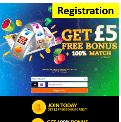 mFortune 5 pound free no deposit