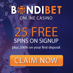 Bondibet casino mobile, Welcome 25 free spins, mobile casino